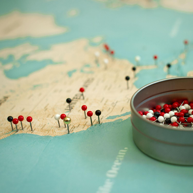the kanawa pin map united states