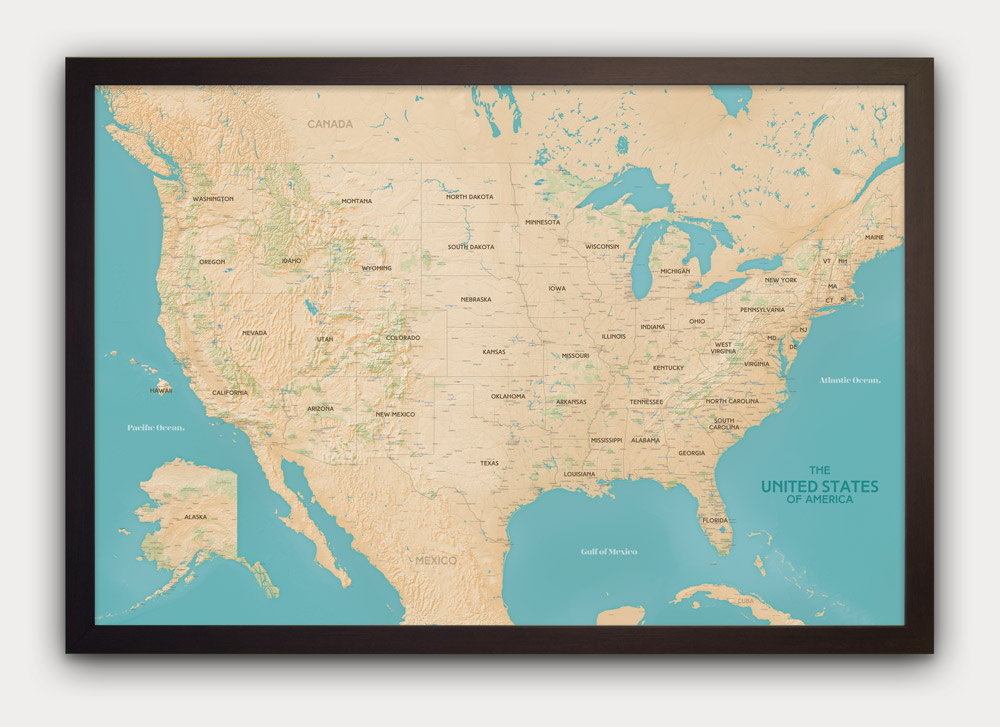 havasu-usa-map-black-frame