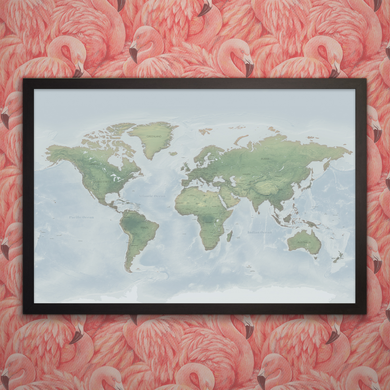 Connemara World Map