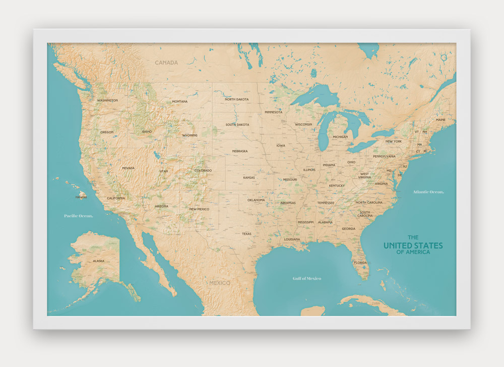 World usa push pin travel maps designed by map republic havasu gumiabroncs Image collections