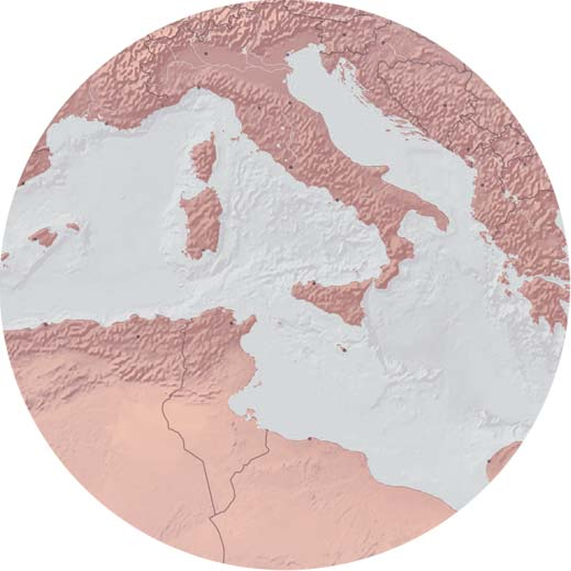 marrakesh world map design topography
